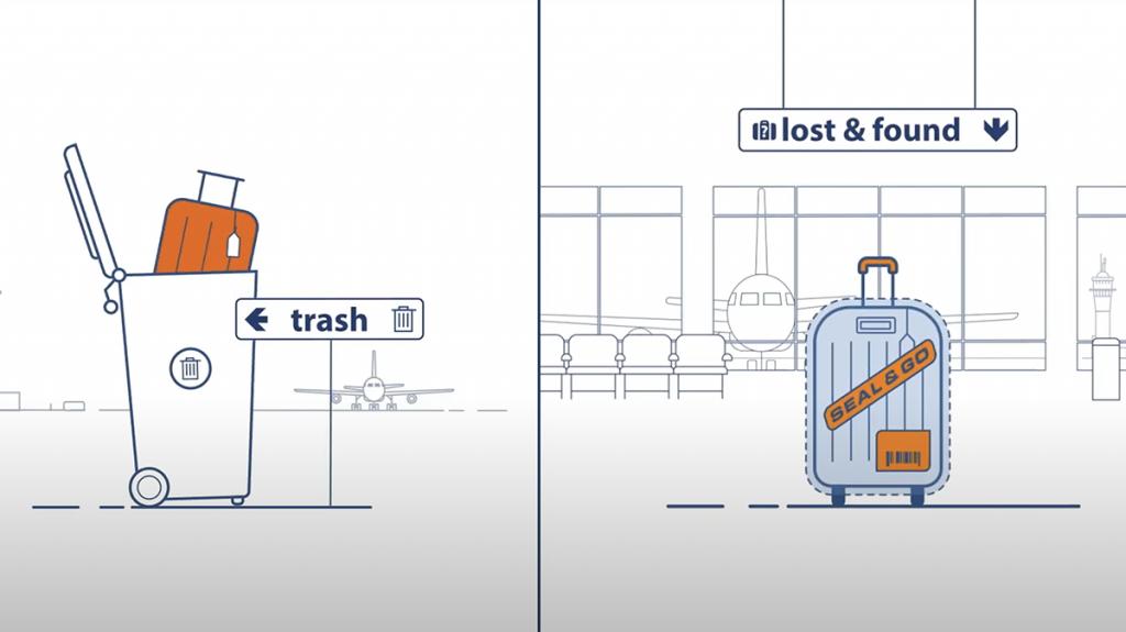 koffer kwijt